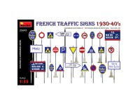 MiniArt Acc. French Traffic Signs 1930-40's 1/35