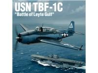 Academy USN TBF-1C Battle of Leyte Gulf Aircraft 1/48