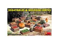 MiniArt Vegetables & Wooden Crates 1/35