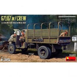 MiniArt G7107 Crew 1,5t 4X4 Cargo Truck1/35
