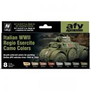 Set 8 Italian WWII Regio Esercito Camo Colors