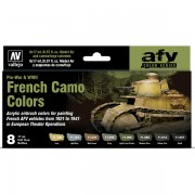 Set French Camo Colors Pre-War & WWII 8