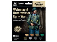 Set 8 MC Wehrmacht Unteroffizier Early War