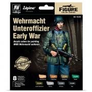 Wehrmacht Unteroffizier Early War 8 colour set