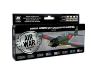 Set Air War Color Imperial Japan. Navy