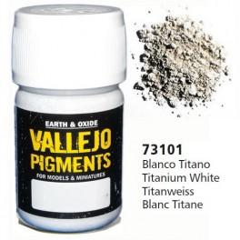 Pigmento Vallejo Blanco Titanio 35ml