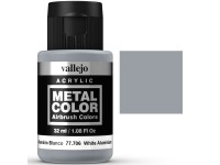 Metal Color Vallejo Aluminio Blanco32ml