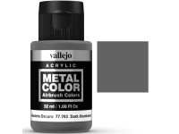 Metal Color Vallejo Aluminio Oscuro 32ml